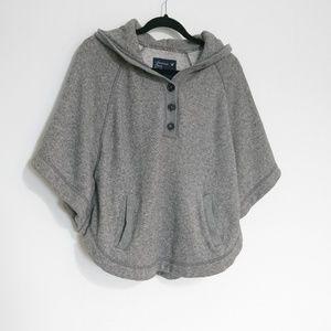 American Eagel Poncho Knit Sweater